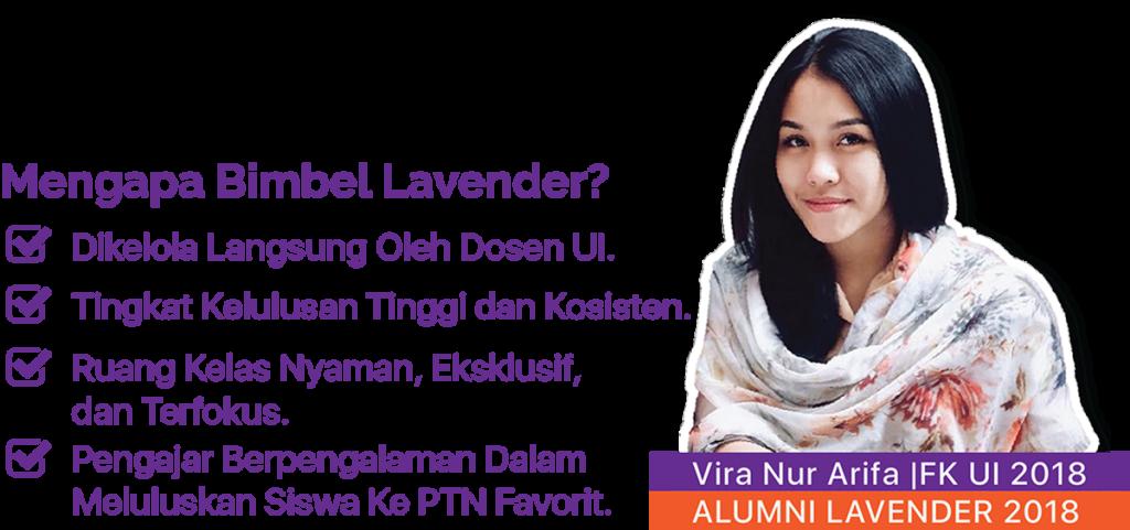 vira siswa bimbel lavender 2018