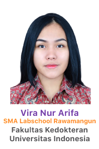 picture of vira nur arifa sma labschool rawamangun siswa bimbel lavender 2018 lulus fk ui