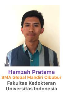 picture of hamzah pratama sma global mandiri cibubur siswa bimbel lavender 2018 lulus fk ui